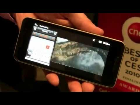 LG GW990 Intel Moorestown Atom Smartphone