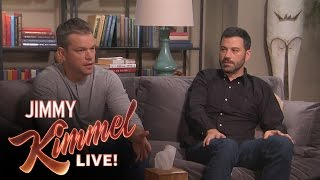 Download Matt Damon and Jimmy Kimmel go to Couples Therapy Mp3 and Videos