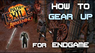 Path of Exile 2.1 - How to get gear for endgame! - Walkthrough of my gearing process