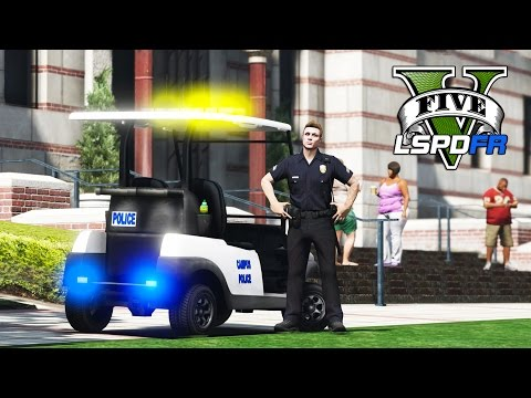 GTA 5 - LSPDFR Ep128 - ULSA Campus Police Craziness!!