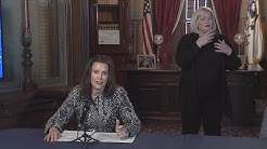 Gov. Gretchen Whitmer's April 13, 2020, update on coronavirus response
