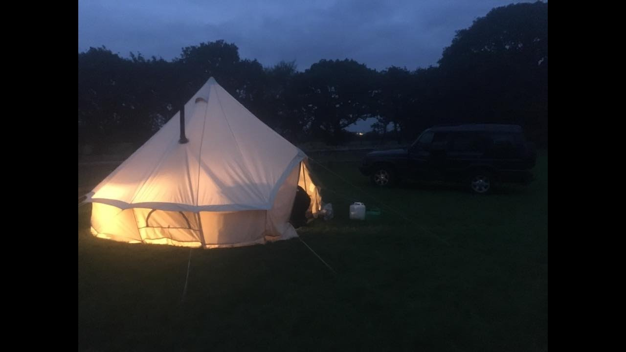 C&ing with Fourby - featuring The Bell Tent and Frontier Stove & Camping with Fourby - featuring: The Bell Tent and Frontier Stove ...