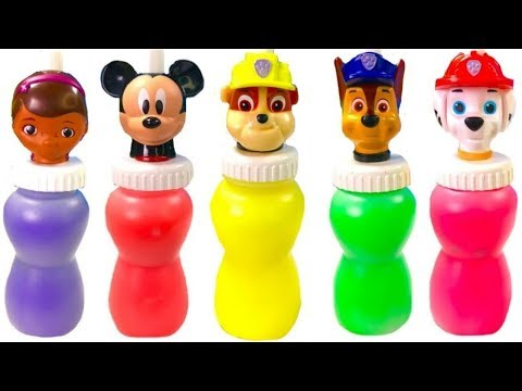 Thumbnail: Best Learning Colors for Kids with Paw Patrol Slime Surprise Doc McStuffins Minnie | Fizzy Fun Toys