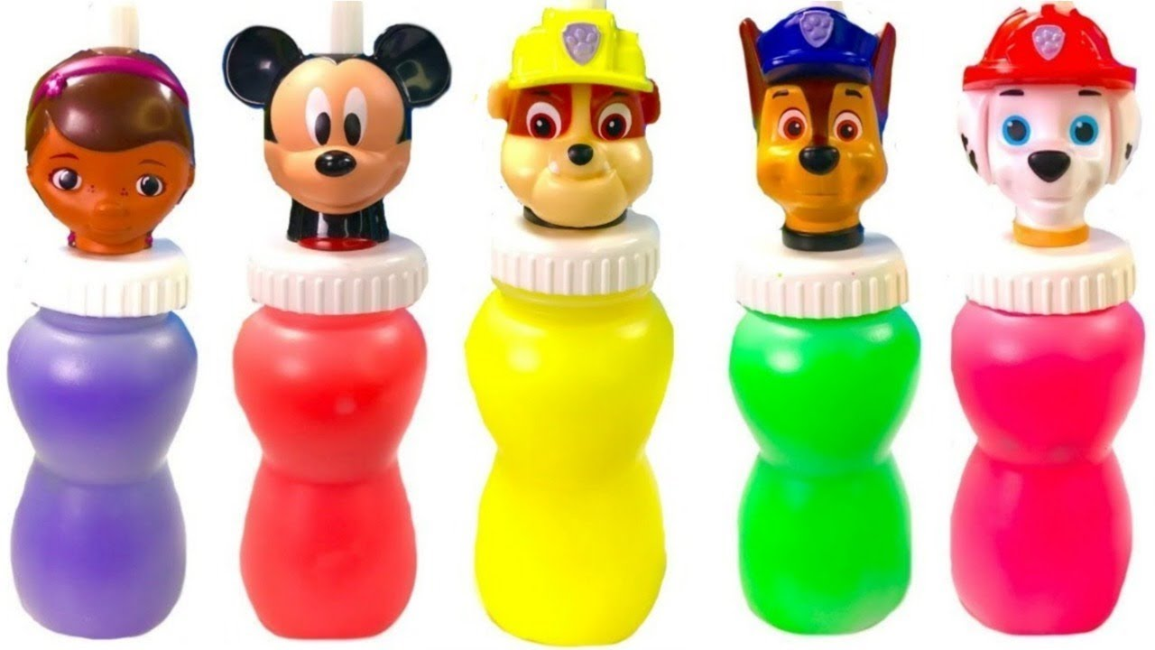 Fizzy Fun Toys: Paw Patrol Slime Surprise McStuffins Minnie