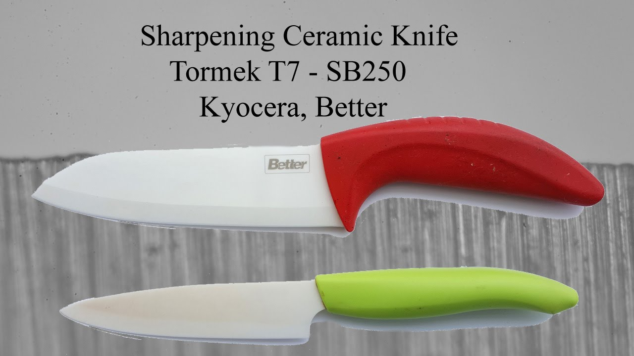 Ceramic Knife Sharpening Tormek T7 Sb250 Youtube