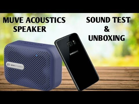 Muve Acoustics Wireless Bluetooth Speaker Unboxing And Sound Test || Full Tutorial In Hindi By Khan