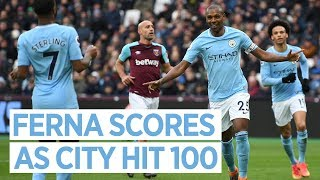 West Ham 1-4 Man City | Fernandinho Post Match Reaction