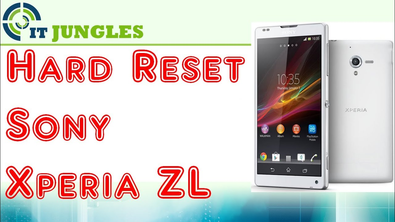 sony xperia zl how to hard master reset back to factory settings rh youtube com Sony Xperia Go Open Sony Xperia