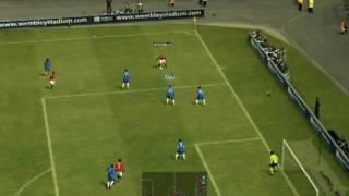 PES 2012 Full Game Gameplay - Chelsea vs Manchester United