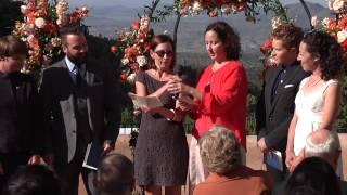 Hacienda Dona Andrea Santa Fe New Mexico Wedding