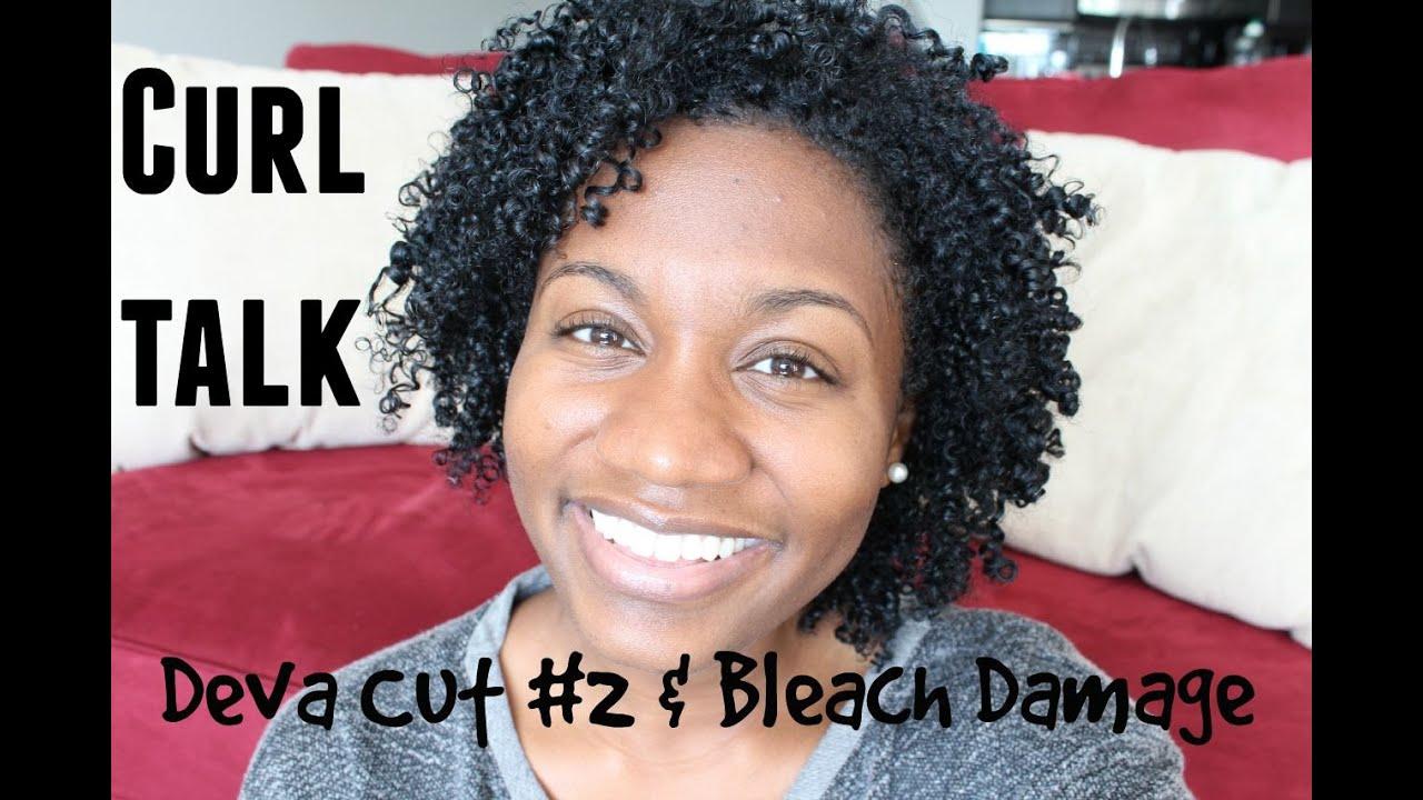 Curl Talk Bleach Damage From Hair Color On Natural Hair