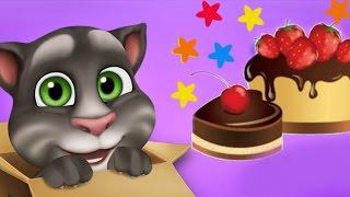День Рождения Моего Говорящего Кота Тома Мультик по игре.  Летаем по Странам,  Шлем Летчика