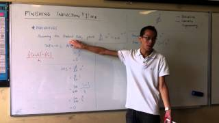 Induction: Derivative Proof