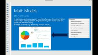 Microsoft Azure Machine Learning and Its Application for Dynamics AX