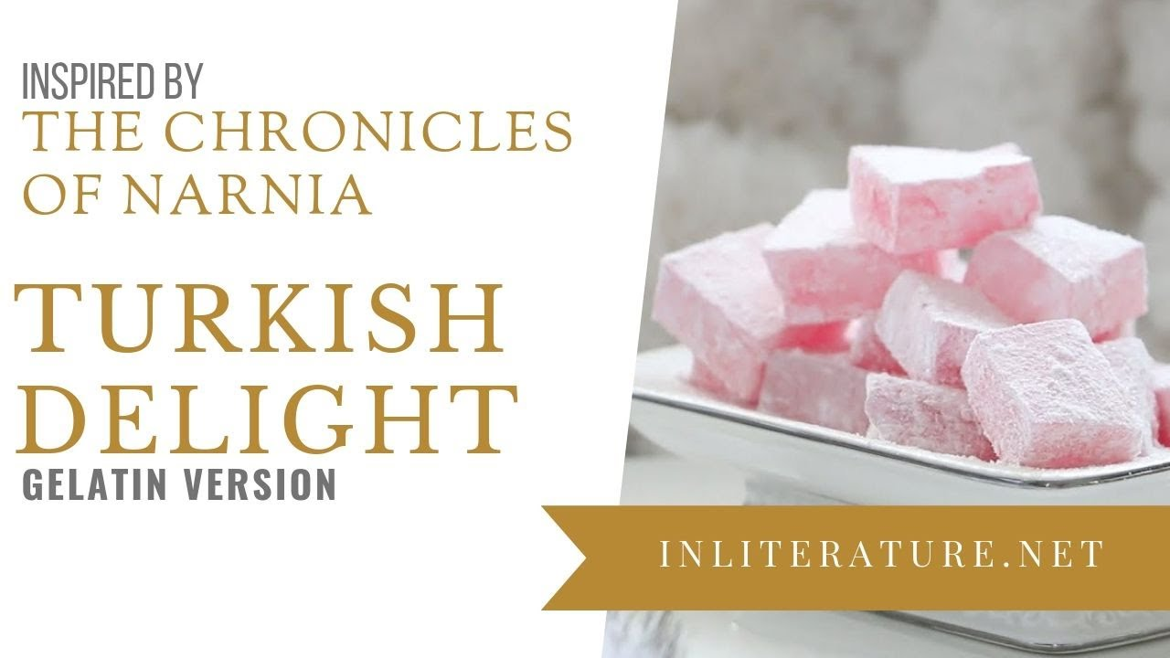 Image result for the lion the witch and the wardrobe turkish delight recipe