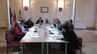 42 zasadnutie Mestského zastupiteľstva v Šahách 29 11 2018