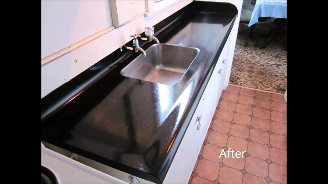 Giani Granite Paint Before And After Youtube