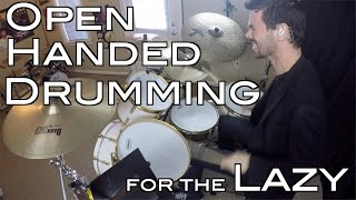 DudeThoughts: 5 Tips for Drumming Open Handed