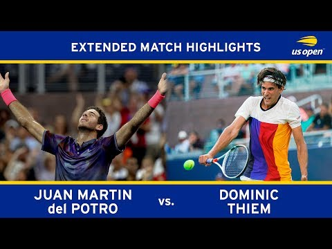 Juan Martin Del Potro Vs Dominic Thiem | US Open 2017 R4