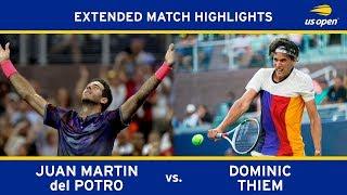 Juan Martin del Potro vs. Dominic Thiem | 2017 US Open, R4