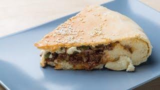 Пирог-гамбургер. Очень просто и невероятно вкусно