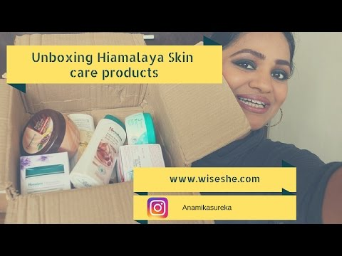 Unboxing Himalaya Skin Care Products India |Wiseshe Makeup