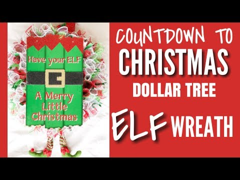 How To Make An Elf Hat With A Dollar Tree Frame Doovi
