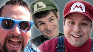 Get Ready For Stupid Mario World And Plumber Knight! - Rich Vlog