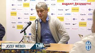 Jozef Weber hodnotí utkání Opava Boleslav