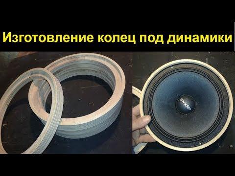 Кольца под динамики (изготовление)