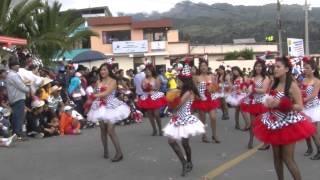 Comparsas carnavaleras  del domingo de carnaval 2015 Guaranda - Ecuador
