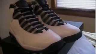 White/Black-Lt Stl Grey-Varsity Red Retro 10 (Steel) Air Jordan Review 2013