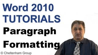 Word 2010 Tutorial | Paragraph Formatting | Full Course