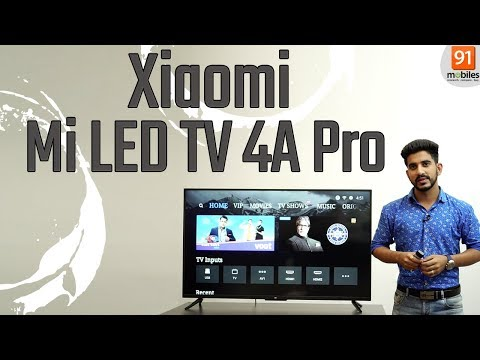 Xiaomi Mi LED TV 4A Pro: first look 49 inch Android TV priced Rs. 29,999 [Hindi हिन्दी]