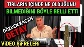 Sedat Peker, TIR İftirasını İTİRAF ETTİ. (YENİ VİDEO)
