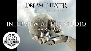 DREAM THEATER - Interview at the Studio Pt. 2