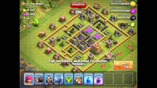 Clash of Clans - Level 3 P.E.K.K.A and Level 5 Harry Potters!