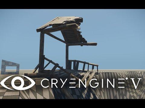 Cryengine V (Cryengine 5) #1 Установка. Начало работы. Обзор. Устранение проблем. Start. beginning