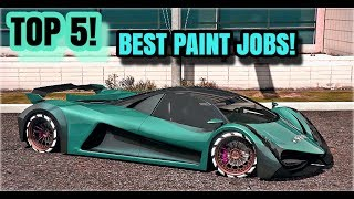 TOP 5 AWESOME PAINT JOBS FOR THE NEW DEVESTE 8 ( DEVEL 16 ) PART 3 | GTA 5 ONLINE