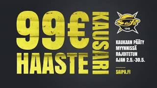 SaiPan kauden 2019-2020 99 € kausarihaaste