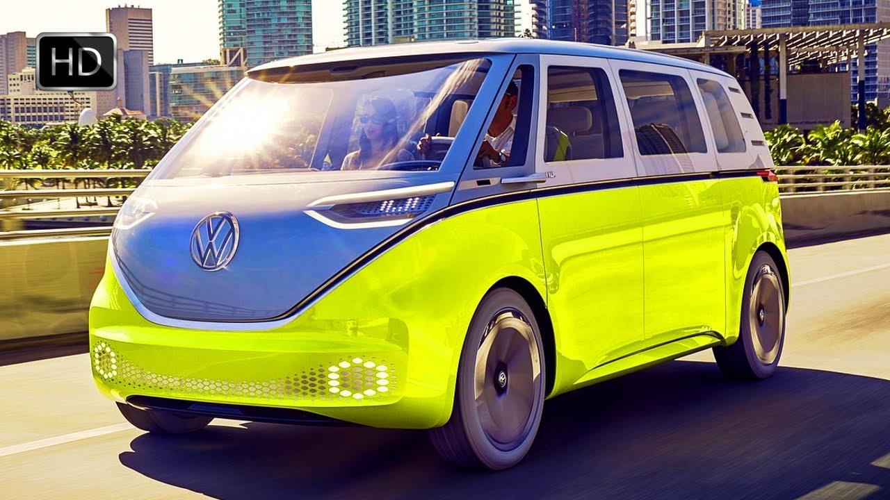 2017 Volkswagen Id Buzz Concept Van Ev Exterio Interior