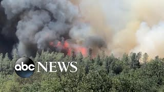 51 large wildfires burning in the West, forcing evacuations
