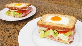 Sándwich Vegetal con Huevo | Súper Sabroso!