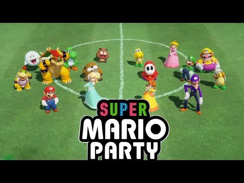 Super Mario Party Just For Kicks Mini Game (Soccer Match)