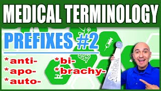 Medical Terminology Prefixes 2 | Memorize Nursing Dictionary Biology Words Made Easy for Beginners