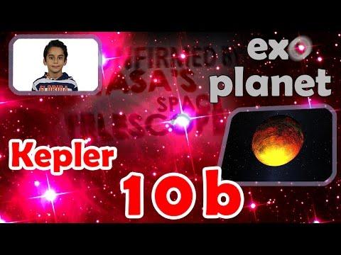 8 year old Atbin explains: Kepler-10b; the first confirmed terrestrial planet