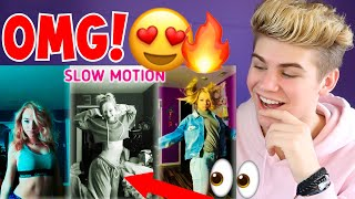 SHE'S SO CUTE! Zoe Laverne Musical.ly Slow Motion   The Best Musically Compilation (REACTION) 2018
