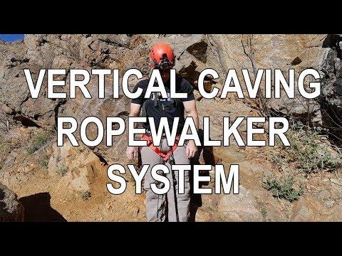 Ropewalker Ascending System For Caving