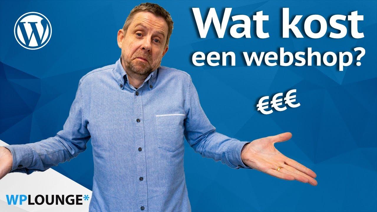 Een WooCommerce webshop laten maken wat kost dat