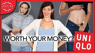 UNIQLO: are their clothes worth your money? ǀ Haul but different ǀ Justine Leconte